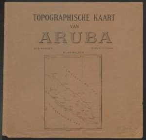 Mapanan historico di Aruba @ Dept. Arubiana