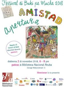Apertura Festival di Buki pa Mucha @ Biblioteca Nacional Aruba (patras)