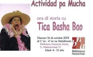 Tica Basha Bou (Actividad pa mucha) @ Biblioteca Nacional Aruba