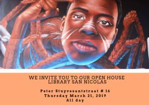 Open house na biblioteca San Nicolas @ Biblioteca San Nicolas