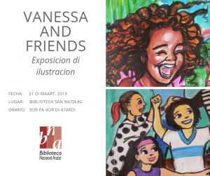 Contamento di storia cu artista Vanessa Paulina @ Biblioteca San Nicolas
