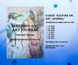Keeping an Art Journal @ Biblioteca Nacional Aruba