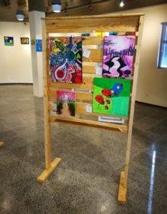 Exposicion 'Our beautiful planet' @ Biblioteca Nacional Aruba