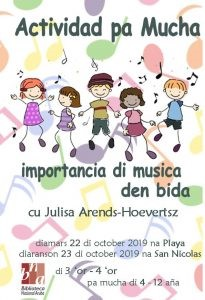 Musica @ Biblioteca hubenil na San Nicolas