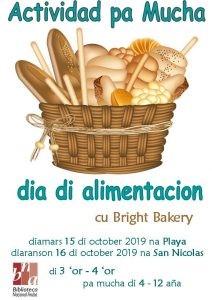 Dia di alimentacion @ Biblioteca Playa y San Nicolas