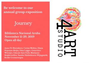 Love4Art Studio presents 'Journey' @ Biblioteca Nacional Aruba