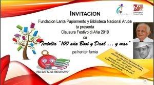 Tertulia '100 aña Booi y Daal...y mas' @ Biblioteca Nacional Aruba