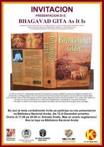 Bhagavad Gita as it is @ Biblioteca Nacional Aruba