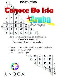 Conoce bo isla @ Biblioteca Nacional Aruba